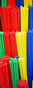 ECo rods- durable coloured rods in a range of colours
