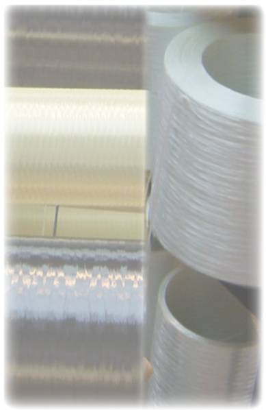 glass carbon and aramid continuous fibres